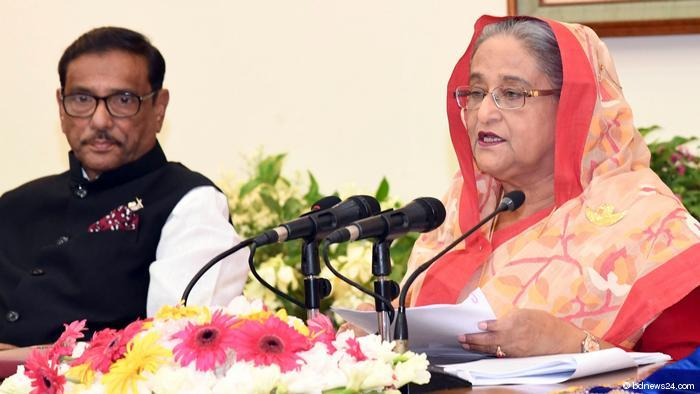 Sheikh Hasina, Prime Minister of Bangladesh (photo: bdnews24.com)