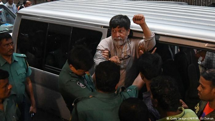Prominent Bangladeshi activist Shahidul Alam was arrested in August 2018 (photo: Getty Images/AFP/M. Uz Zaman