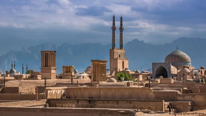 Panorama of the city of Yazd, Iran (photo: picture-alliance/Prisma)