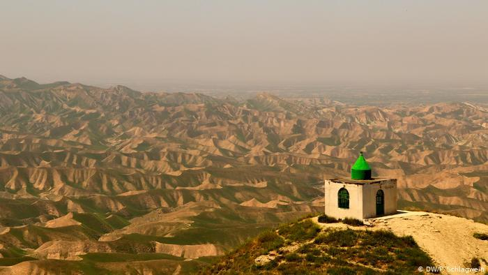 View of the mausoleum of Khaled Nabi, Golestan Province, Iran (photo: DW/F. Schlagwein)