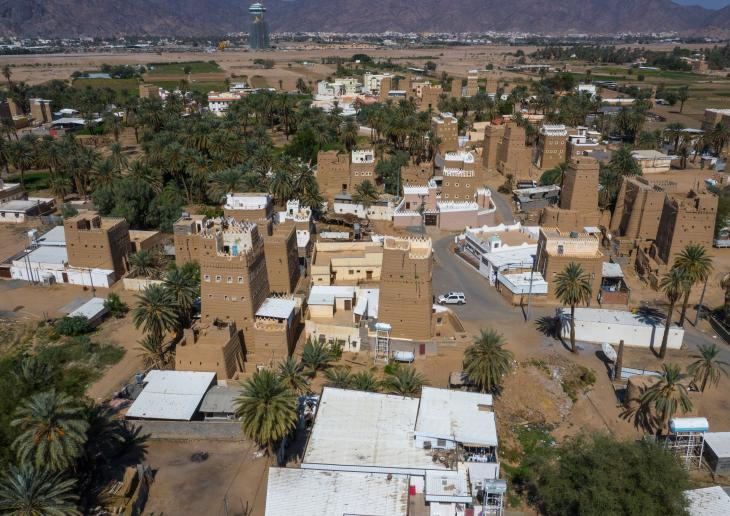 Ancient village close to the south-western city of Najran, Saudi Arabia (photo: Eric Lafforgue)
