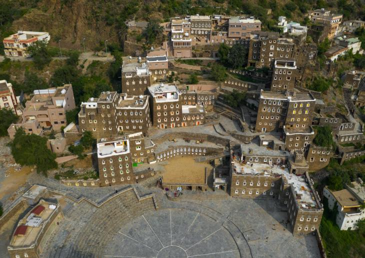 Rijal Almaa, abandoned village turned open-air museum in Asir province, Saudi Arabia (photo: Eric Lafforgue)