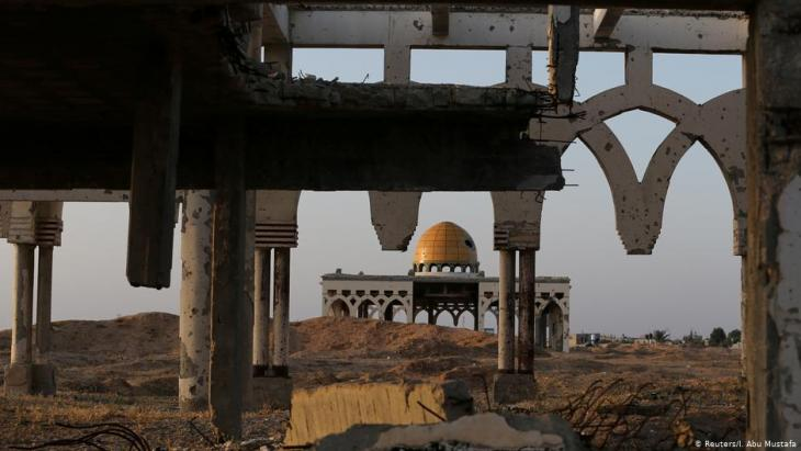 The derelict remains of Gaza International Airport in Rafah in the southern Gaza Strip (photo: Reuters/I. Abu Mustafa)