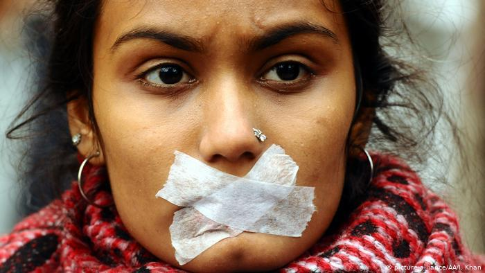 Protests in India against the amended citizenship law (photo: picture-alliance)