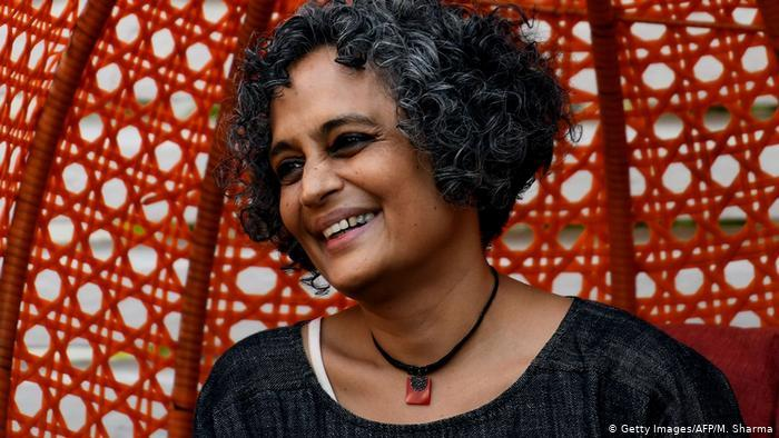 Bestselling Indian author Arundhati Roy (photo: AFP/Getty Images)