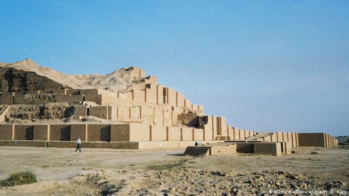 Tchogha Zanbil ruins (photo: picture-alliance/dpa/H.D. Kley)