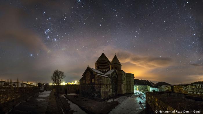 Monastery of Saint Thaddeus on a starry night (photo: Mohammad Reza Domiri Ganji)