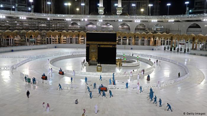 Saudi Arabia's Grand Mosque in Mecca during Ramadan 2020 (photo: Getty Images)