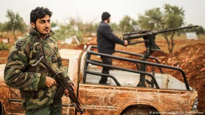 Syrian Shia groups (photo: picture-alliance/Pacific Press/I. Press)