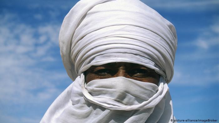 Portrait of a Tuareg man (photo: picture-alliance/ImageBroker)