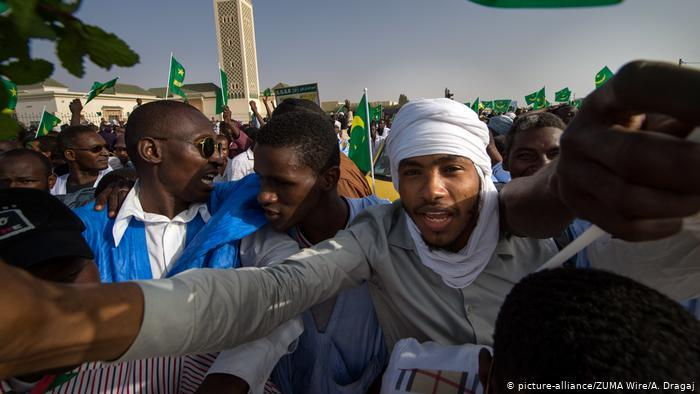 Born into slavery in Mauritania
