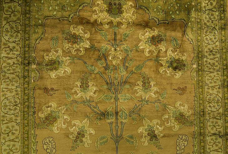 A Kashmir carpet (photo: Sugato Mukherjee)