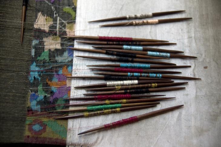 Kani weaving needles (photo: Sugato Mukherjee)