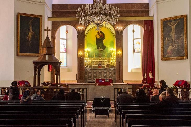 Saint Mary's Church, Hasan Abad (photo: Changiz M. Varzi)