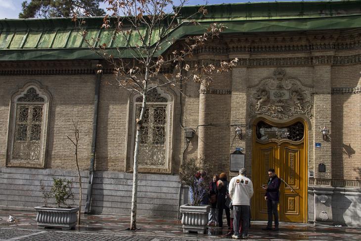 The entrance to the Adorian Fire Temple (photo: Changiz M. Varzi)