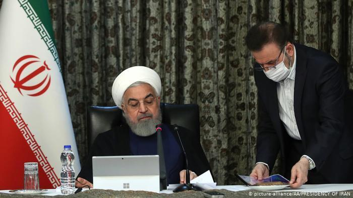 Iranian President Hassan Rouhani (photo: picture-alliance/AA/Presidency of Iran)
