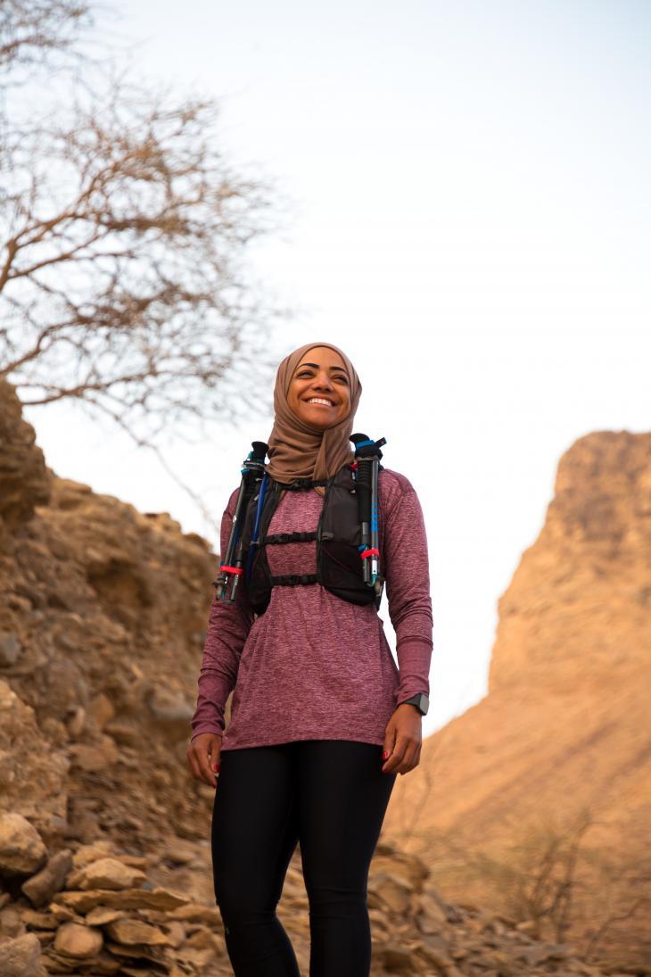 Nadhirah Al Harthy (photo: Pascal Mannaerts)
