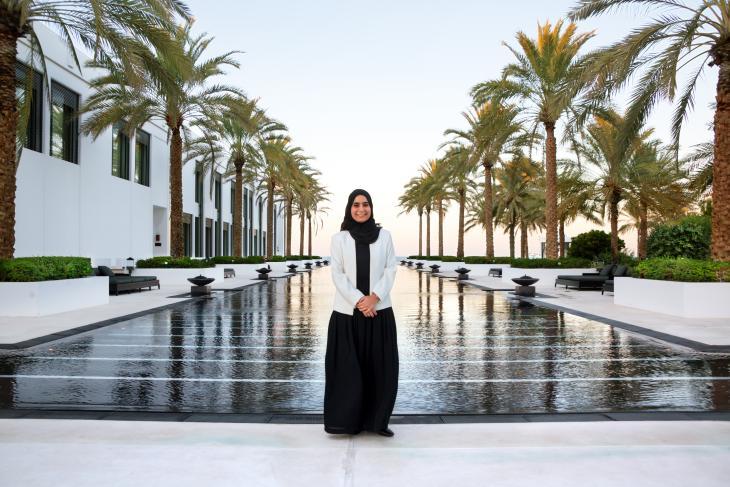 Muneera Al Habsi (photo: Pascal Mannaerts)