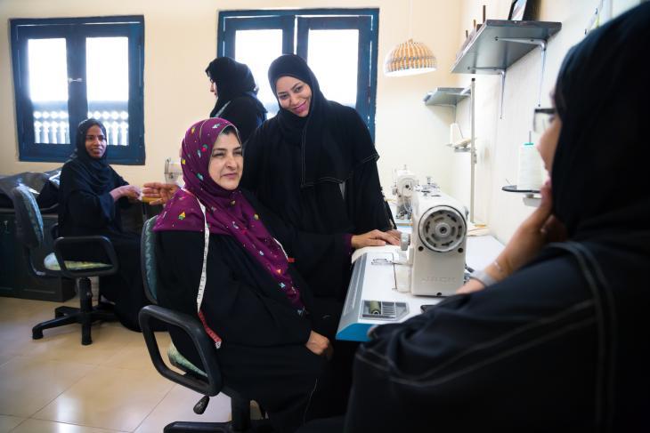 Sidab women's group (photo: Pascal Mannaerts)
