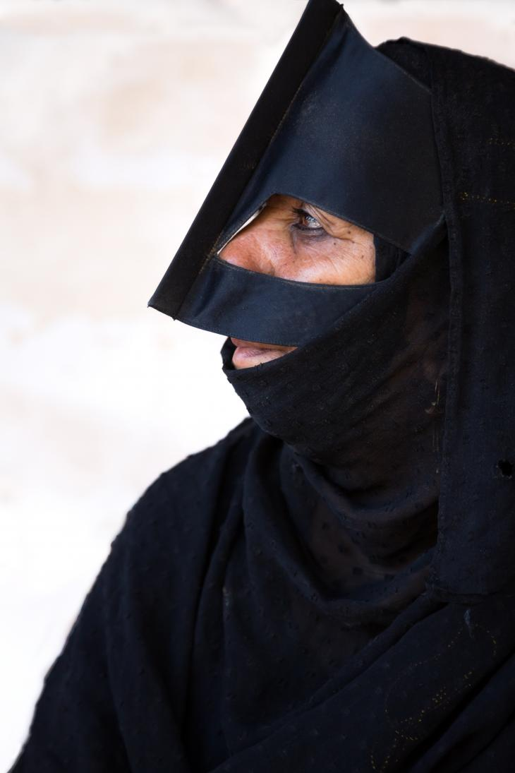 Latefa is Bedouin (photo: Pascal Mannaerts)