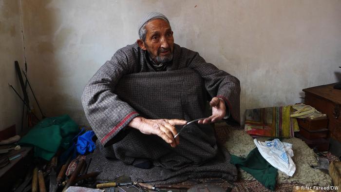 "The last ""German Khar"", Ghulam Mohiuddin (photo: DW/ Rifat Fareed)"