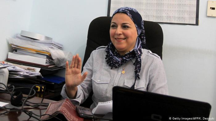 Esraa Abdel Fattah, Egyptian human rights activist
