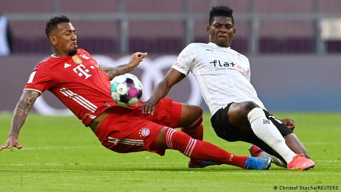 Jerome Boateng and Breel Embolo