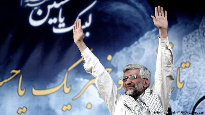 Said Jalili is chairman of Iran's Supreme National Security Council. The 55-year-old was deputy foreign minister under President Ahmadinejad and led nuclear negotiations for Iran until 2013, the same year he ran against the more moderate Hassan Rouhani. The conservative Jalili stands for a tough foreign policy course against the West