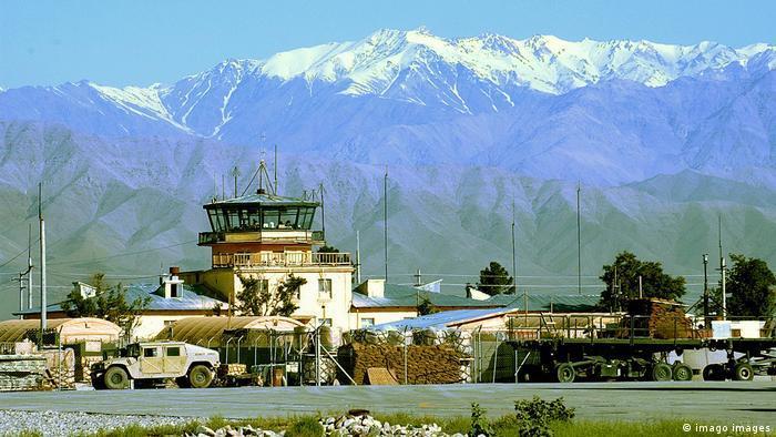 U.S. Air Force Bagram Air Base at the foot of the Hindu Kush in Afghanistan (2004)