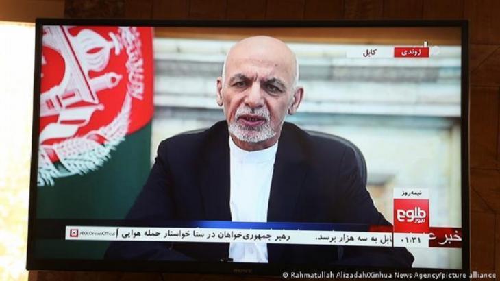 Afghan President Ghani (photo: Rahmatullah Alizadah/Xinhua News Agency/picture-alliance)