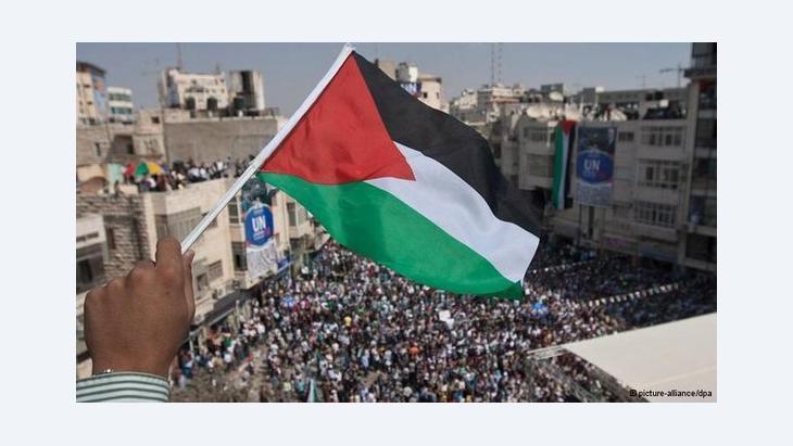Palestinian flag (photo: DW)