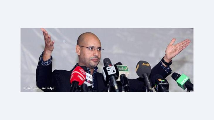 Saif al-Islam Gaddafi (photo: picture alliance/dpa)