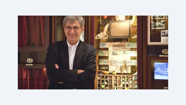 "Orhan Pamuk in his ""Museum of Innocence"" (photo: © Museum of Innocence)"