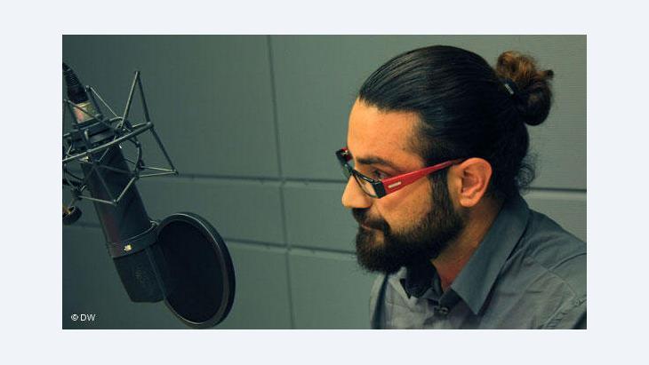 Shahin Najafi (photo: © DW/Shahryar Ahadi)