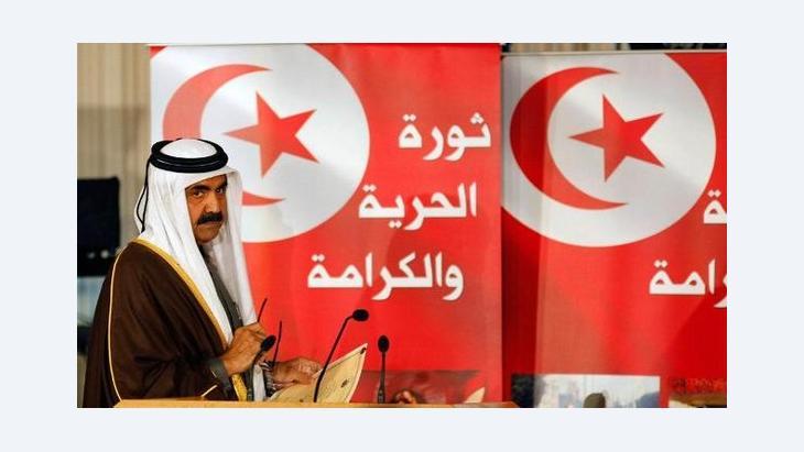 Emir Sheikh Hamad bin Khalifa al-Thani of Qatar (photo: REUTERS/Zoubeir Souissi)