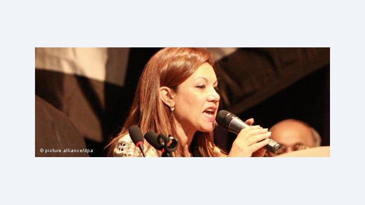 Bouthaina Kamel (photo: picture alliance/dpa)