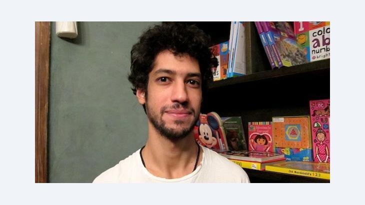 Ali Abdel Mohsen (photo: Claudia Mende)