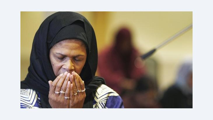 Amina Wadud (photo: Adrian Dennis/AFP/Getty Images)