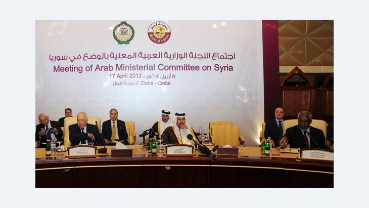 Meeting of the Arab Ministerial Committee on Syria (Arab League) in Doha (photo: Osama Faisal/AP/dapd)