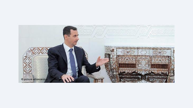 President Assad of Syria (photo: picture alliance/dpa)