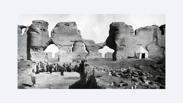 Ernst Herzfeld, excavation photograph 1911-1913 (photo: © Museum für Islamische Kunst, Staatliche Museen zu Berlin)