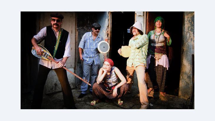 """The Turkish Oriental Dub Band """"Baba Zula"""" (photo: Alper Etug)"""