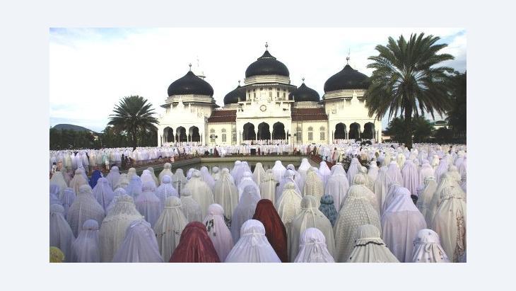 Baiturrahman Grand Mosque, Banda Aceh, Indonesia (photo: AP)