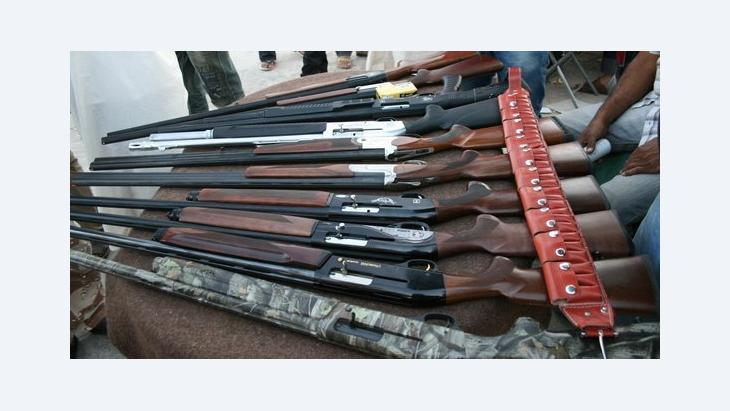Weapon market in Benghazi (photo: Markus Symank)