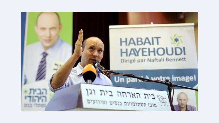 Naftali Bennett, leader of the Israeli religious Zionist Habayit Hayehudi party (photo: EPA)