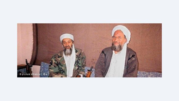 Osama bin Laden and Ayman al-Zawahiri in Afghanistan, 2001 (photo: dpa)