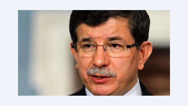 Turkey's Foreign Minister Ahmet Davutoglu (photo: dapd)