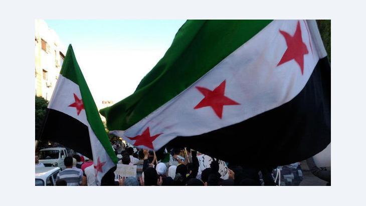 Anti-Assad demonstration in Damascus (photo: Reuters)