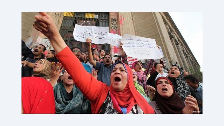 Anti-Morsi demonstration in Cairo, Egypt (photo: Reuters)
