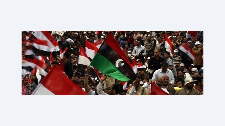 Demonstration on Tahrir Square (photo: AP)